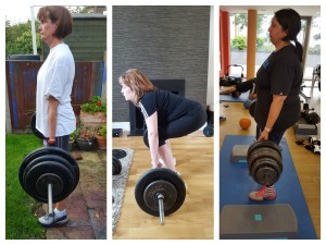 deadlifting women